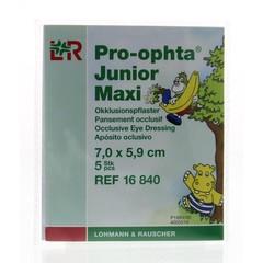 Pro Ophta Occlusiepleister maxi 7 x 5.9 cm (5 stuks)