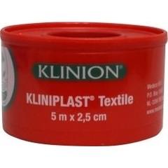 Kliniplast Kliniplast hechtpleister 5 x 2.5 cm met ring (1 stuks)