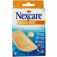 Nexcare Active maxi pleisters (5 stuks)