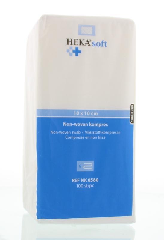 Hekasoft Hekasoft Non-woven kompres 10 x 10 (100 stuks)