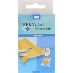 Heka Wondpleister elastisch 1 m x 6 cm (1 stuks)