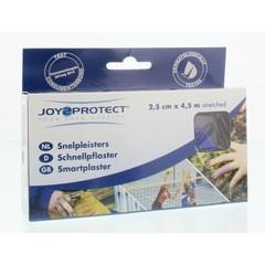 Joy2Protect Snelpleisters blauw 2.5 cm x 4.5 m (2 rollen)