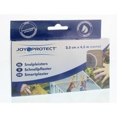 Joy2Protect Snelpleisters huidskleur 2.5 cm x 4.5 m (2 rollen)