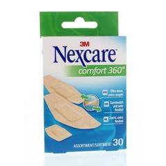 Nexcare Comfort 360 assorti pleisters (30 stuks)