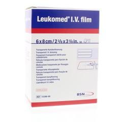 Leukomed Leukomed IV film 5.8 x 8 cm (50 stuks)