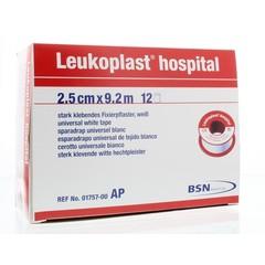 Leukoplast Leukoplast 9.2 m x 2.50 cm wit (12 stuks)