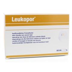 Leukopor Hechtpleister 9.2 m x 1.25 cm 2453 (24 stuks)