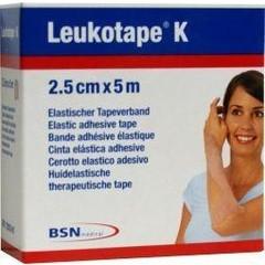 Leukotape Leukotape K 5 m x 2.5 cm huidkleur (1 stuks)