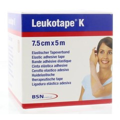 Leukotape Leukotape K 5 m x 7.5 cm huidkleur (1 stuks)
