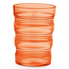 Vitility Beker sure-grip oranje (1 stuks)