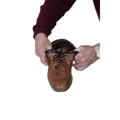 Able 2 Elastische schoenveters zwart 61 cm (2 paar)