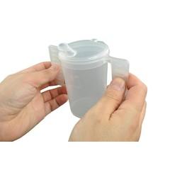 Able 2 Drinkbeker met deksel/handvatten (1 stuks)