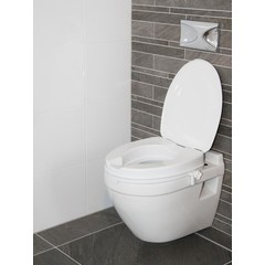 Able 2 Atlantis toiletverhoger 5 cm met deksel (1 stuks)