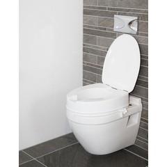 Able 2 Atlantis toiletverhoger 10 cm met deksel (1 stuks)