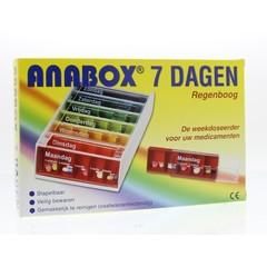 Spruyt Hillen Anabox 7 dagen regenboog (1 stuks)