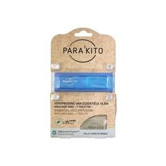 Parakito Armband blauw met 2 tabletten (1 stuks)