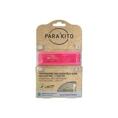 Parakito Armband fuchsia met 2 tabletten (1 stuks)