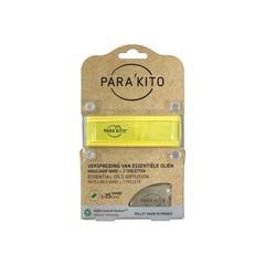 Parakito Armband geel met 2 tabletten (1 stuks)