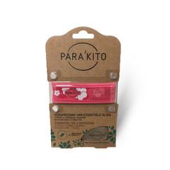 Parakito Armband design roze met 2 tabletten (1 stuks)