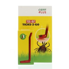 Care Plus Tick out ticks 2-go (1 stuks)