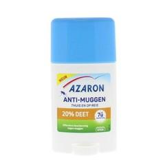 Azaron Anti muggen 20% deet stick (50 ml)