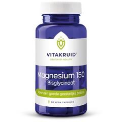 Vitakruid Magnesium 150 bisglycinaat (60 tabletten)