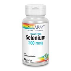 Solaray Selenium 200 mcg (90 vcaps)