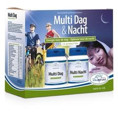 Vitakruid Multi dag & nacht 2 x 30 tabletten (60 tabletten)