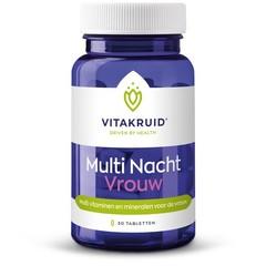 Vitakruid Multi nacht vrouw (30 tabletten)