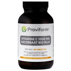 Proviform Vitamine C1000 ascorbaat bio plus (90 tabletten)