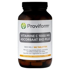 Proviform Vitamine C1000 ascorbaat bio plus (180 tabletten)