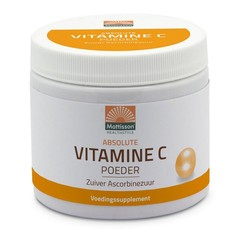 Mattisson Vitamine C poeder zuiver ascorbinezuur (350 gram)
