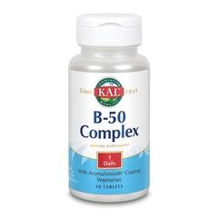 KAL Vitamine B complex 50 mg (50 tabletten)