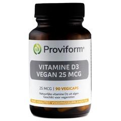 Proviform Vitamine D3 vegan 25 mcg (90 vcaps)