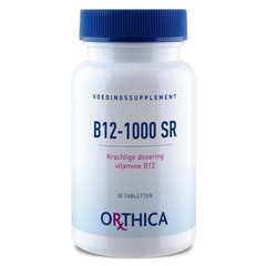 Orthica Vitamine B12 1000 SR (30 tabletten)