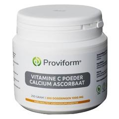 Proviform Vitamine C poeder calcium ascorbaat (200 gram)