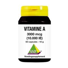 SNP Vitamine A 3000 mcg (60 capsules)