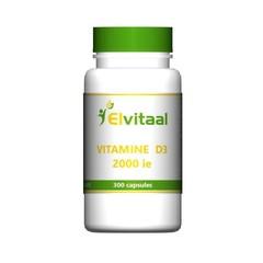 Elvitaal Vitamine D3 2000 IE (300 capsules)