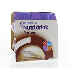 Nutridrink Protein chocolade 200 ml (4 stuks)