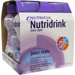 Nutridrink Juice style cassis 200 ml (4 stuks)