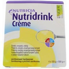 Nutridrink Creme vanille 125 gram (4 stuks)