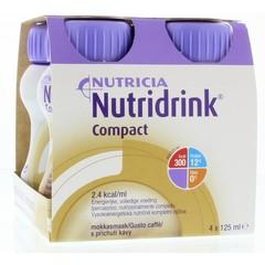 Nutridrink Compact mokka 125 ml (4 stuks)