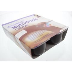 Nutridrink Creme chocolade 125 gram (4 stuks)