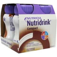 Nutridrink Compact chocolade 125 ml (4 stuks)