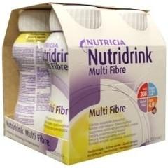 Nutridrink Multi fibre vanille 200 ml (4 stuks)