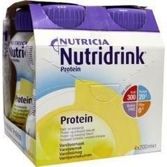 Nutridrink Protein vanille 200 ml (4 stuks)
