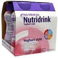 Nutridrink Yoghurt frambozen 200 gram (4 stuks)
