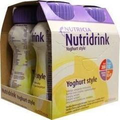 Nutridrink Yoghurt vanille/citroen 200 gram (4 stuks)