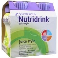 Nutridrink Juice style appel 200 ml (4 stuks)
