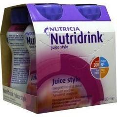 Nutridrink Juice style bosvruchten 200 ml (4 stuks)